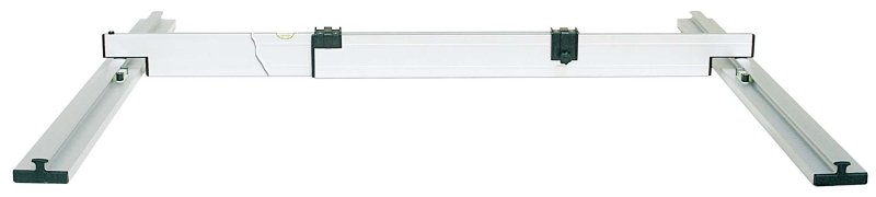 Nivelo PLUS set pro podlaháře sestávající z 2 nastavitelných latí, 5 stahovacích kolejnic a 3 spojek, fotografie 9/9