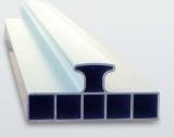 Nivelo PLUS set pro podlaháře sestávající z 2 nastavitelných latí, 5 stahovacích kolejnic a 3 spojek, fotografie 7/9