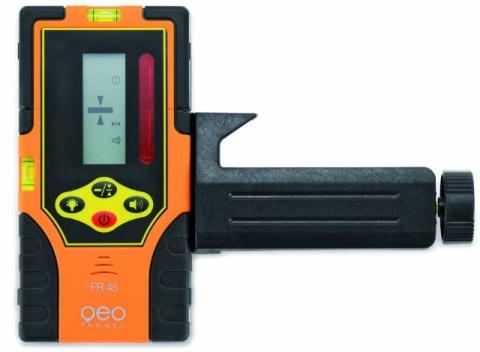Přijímač FR 45 pro rotační lasery s červeným paprskem
