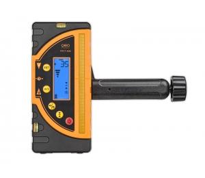 Kombi přijímač FR 77-MM pro lasery s červeným i zeleným paprskem a zobrazením výšky v mm
