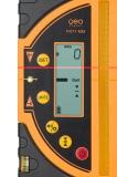 Kombi přijímač FR 77-MM pro lasery s červeným i zeleným paprskem a zobrazením výšky v mm, fotografie 3/4