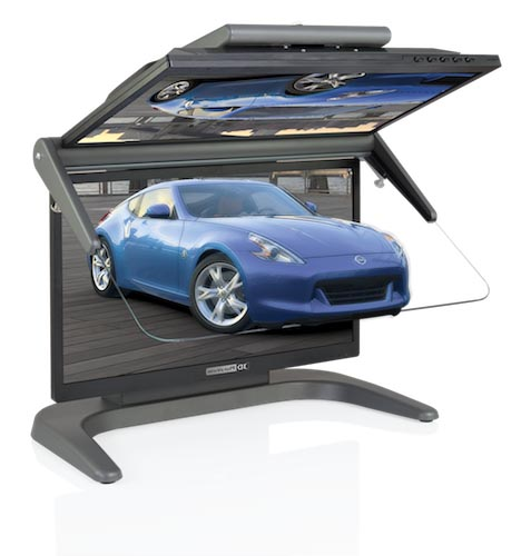 """Stereo-Monitor 3D PluraView Full HD 22"""""""