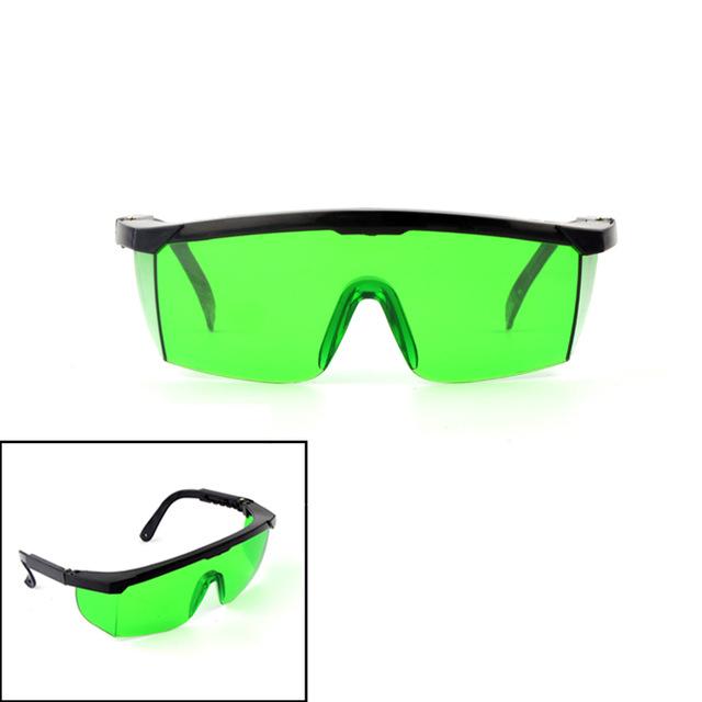 Laserové brýle zelené