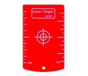 Magnetická cílová tabulka červená