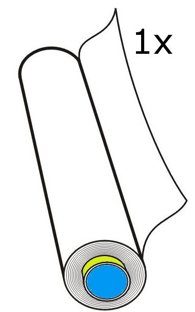 914mm x 50m - 1 role v balení