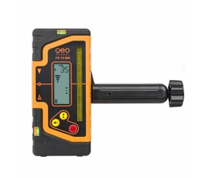 Kombi přijímač FR 75-MM pro liniové lasery s červeným i zeleným paprskem a zobrazením výšky v mm