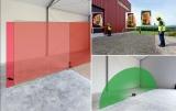 Přijímač FR-DIST 30 s dálkoměrem pro rotační lasery s červeným i zeleným paprskem, fotografie 7/8