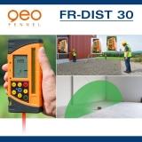 Přijímač FR-DIST 30 s dálkoměrem pro rotační lasery s červeným i zeleným paprskem, fotografie 9/8