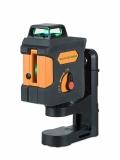 Geo1X-360 GREEN zelený křížový laser s funkcí PULSE a možností použít přijímač paprsku, fotografie 1/5