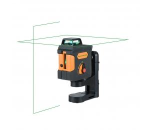 Geo1X-360 GREEN zelený křížový laser s funkcí PULSE a možností použít přijímač paprsku