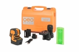 CrossPointer5 Green zelený kombinovaný křížový a bodový laser s možností použít přijímač paprsku, fotografie 5/7