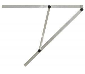 Velký mechanický úhelník G210 s délkou ramene 100 cm