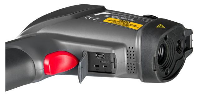 Profesionální termometr s barevným TFT displejem a kamerou FIRT 1000 DataVision, fotografie 3/5