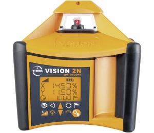 VISION 2N + přijímač FR77-MM pro vodorovnou a svislou rovinu s digitálním sklonem osy X a Y