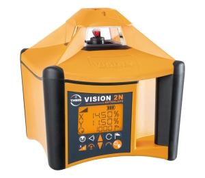 VISION 2N AUTOSLOPE + přijímač FR77-MM pro vodorovnou rovinu s automatickým dorovnáváním nastaveného sklonu osy X a Y