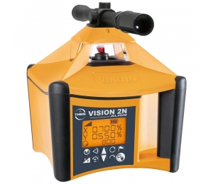 VISION 2N Autoslope ALIGN + přijímač TE90 + dálkové ovládání FB-V pro obě roviny a sklon os X i Y a funkcí zacílení na cíl ALIGN