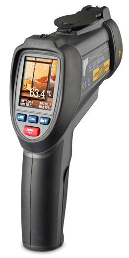 Profesionální termometr s barevným TFT displejem a kamerou FIRT 1000 DataVision, fotografie 1/5