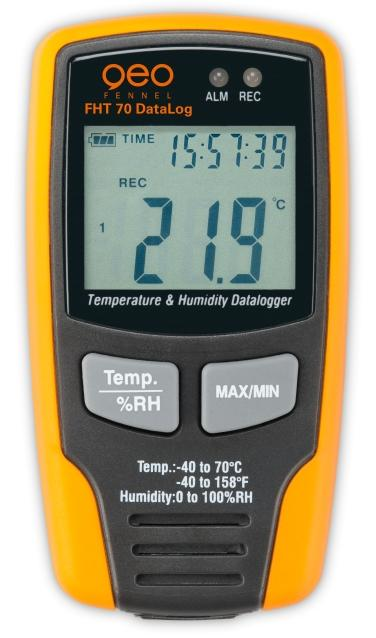 GeoFennel FHT 70 DataLog datový zapisovač teploty a vlhkosti