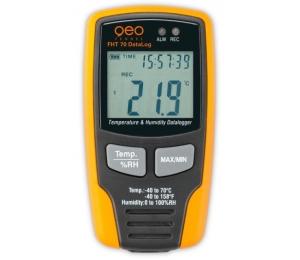 FHT 70 DataLog je datový zapisovač teploty a vlhkosti