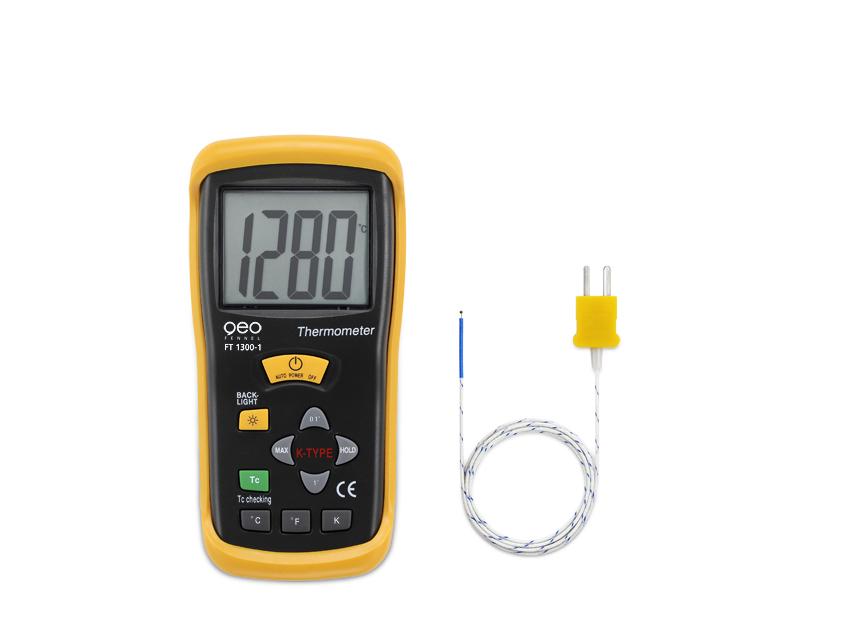 GeoFennel FT 1300/1 kontaktní teploměr s jedním čidlem