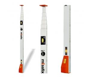 Kvalitní měřící lať Messfix 2 m s okénkem pro odečet dole