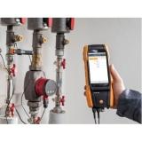 Testo 300 je analyzátor spalin kotlů, teploty na radiátorech, měření CO v okolí a tlaku na hořáku, fotografie 11/10