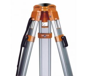 GeoFennel FS 20-D stavební stativ s kulovou hlavou, rychlosvěrami a rozsahem 105 - 165 cm