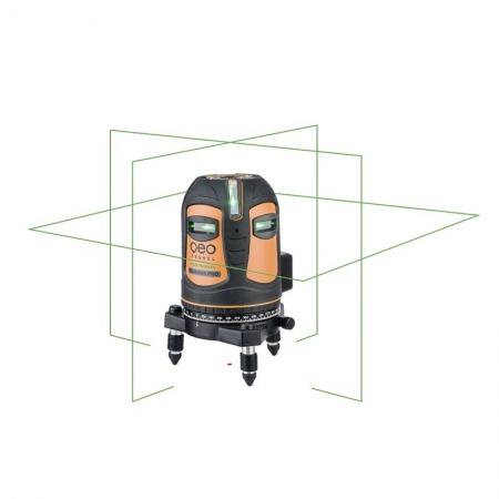 FLG 70 GREEN přesný multifunkční laser s přijímačem