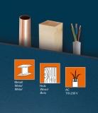 FWS 80 detektor kovů, dřeva a živých vodičů ve stropech, stěnách a podlahách., fotografie 1/4