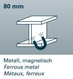 FWS 80 detektor kovů, dřeva a živých vodičů ve stropech, stěnách a podlahách., fotografie 3/4