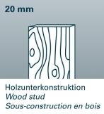 FWS 80 detektor kovů, dřeva a živých vodičů ve stropech, stěnách a podlahách., fotografie 7/4
