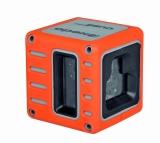Cube je červený křízový laser s přesností +/- 3mm / 10m a dosahem 25m, fotografie 3/5