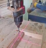 L 321 - vytyčovací červený křížový laser, fotografie 1/2