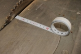 X111 samolepící měřící páska pro montáž na stoly a stroje o délce 1m se škálováním zprava doleva, fotografie 1/3