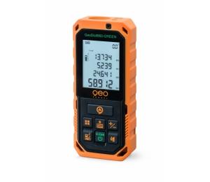 GeoDist60 GREEN s dosahem 60 m s přesností +/- 2 mm se zeleným paprskem a USB nabíjením