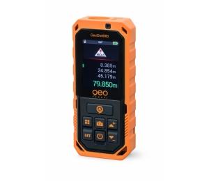 GeoDist80 s dosahem 80 m a přesností +/- 2 mm s USB nabíjením, kamerou a Bluetooth
