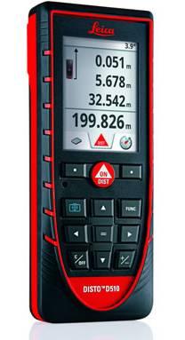 Laserový dálkoměr Disto D510