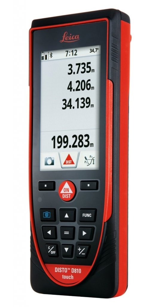 Laserový dálkoměr Disto D810 touch